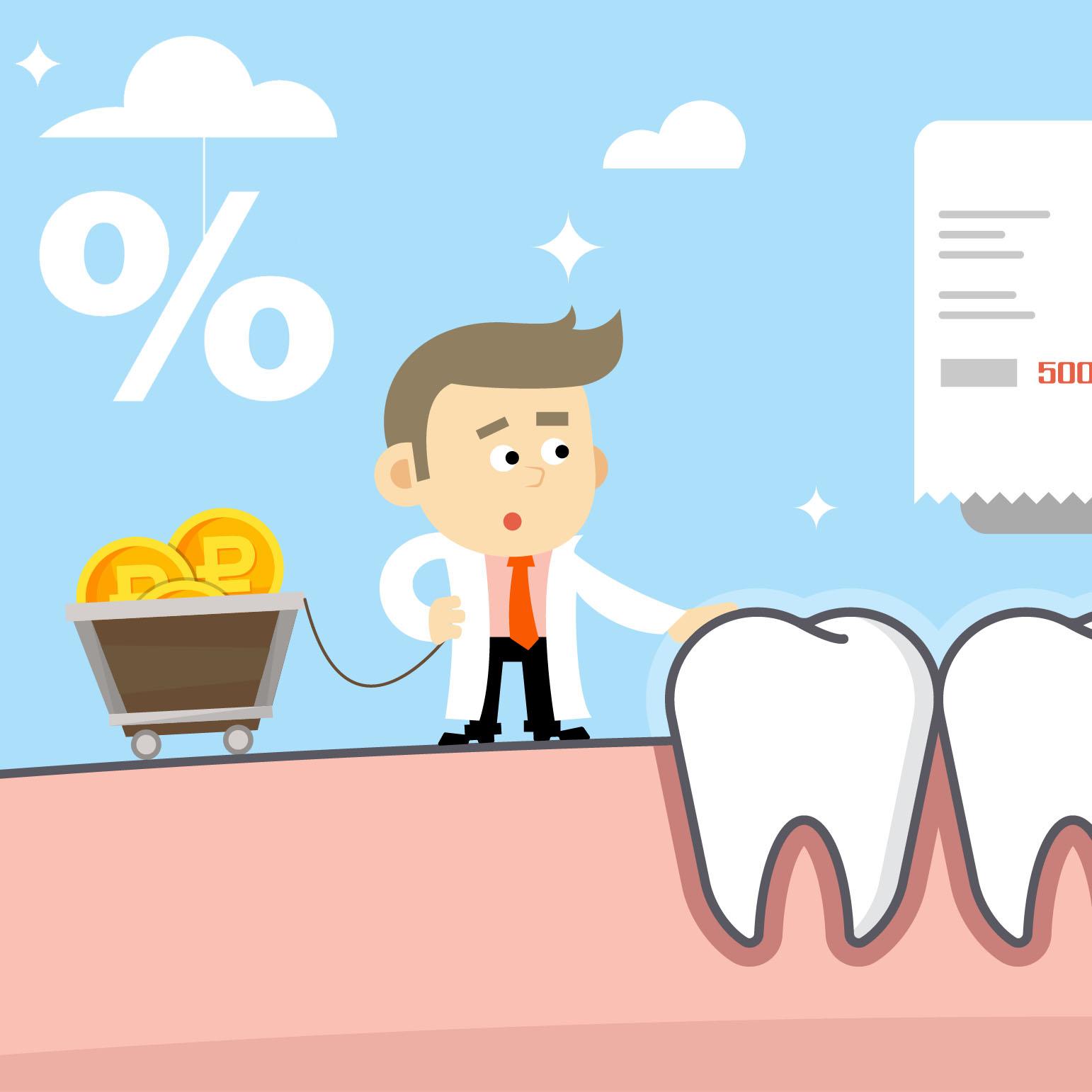 Как вернуть 13% от суммы лечения зубов